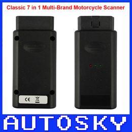Wholesale Motorbike Scanner - Motorcycle Scanner Classic 7 in 1 Motorbike repair Diagnostic tool for Honda, YAMAHA, SYM,KYMCO,HTF,PGO,SUZUKI