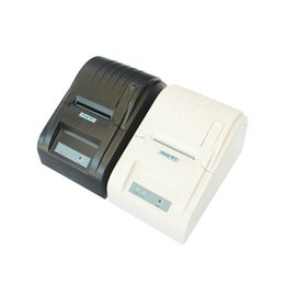 Wholesale Esc Pos - Upgrade High Speed USB Port 58mm Thermal Receipt Pirnter POS printer Low Noise Mini Printer ,Printer Thermal ZJ-5890T,Compatible ESC POS