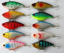 Wholesale Walleye Lures - High Quanlity VIB Carppie fishing Lure 7.5CM  16G Luminous Minnow hard walleye bait fishing fly fishing Lures