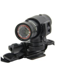 Wholesale Car Dvr H264 - car dvr bicycle helmet camera waterproof outdoor sports F9 Flashlight DV recorder HD 1080P