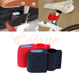 Wholesale Security Bicycle Lock Moped Bike - Free Shipping Bike Alarm Lock Bicycle Motorbike Moped Cycling Security Sound Loud Anti-theft order<$18no track