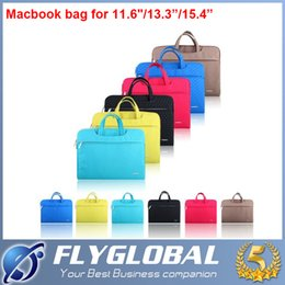 "Wholesale Ultrabook 15 Inches - 2016 Portable Fashion Soft Sleeve Laptop Bag Case Briefcase Handlebag Pouch for 13inch 13"" 11"" 15"" Macbook Air Pro Ultrabook Laptop Notebook"