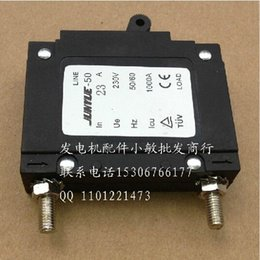 Wholesale Cheap Circuit Breakers - 2 X 23A ELECTRIC CIRCUIT BREAKER FOR HONDA GX390 188F 190F & MORE 5KW GENERATOR FREE SHIPPING CHEAP 2PCS LOT 6.5KW GENSET PARTS