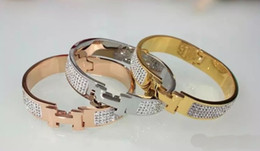 Wholesale Korean Fashion Jewelry Bracelet - 2017 New 18K Gold Bracelets & Bangles Korean Style Love Bracelet Charms Prom Fashion Fine Jewelry