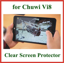Wholesale Pc Screen Guard - 5pcs Crystal Screen Protector for Chuwi Vi8 Tablet PC 8 inch Size 202.5x116.3mm Protective Guard Film