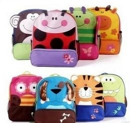 Wholesale Children Books - Children School Bags Kids Animal Pattern Satchels Export Quality Student Backpacks,Cartoon book bags free shpping