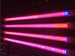 Wholesale T Tube Light - T5 Tube Grow Lamp 18w 12.7W 120cm T8 LED Plant grow Light Red and Blue PSE CE T-Tick RoHS UL 5 years warranty