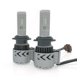 Wholesale Pieces Automobiles - Automobiles 2 Pieces Led Lamp 6500K led lamp 9007 led Automobiles H4 Hi-Lo Beam H11 Car Headlights 72W COB H7 H1 Headlight Bulbs