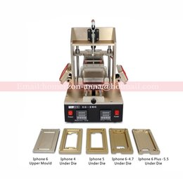 Wholesale Universal Laminator - 5 in 1 Multifunction Bezel Middle Frame Separator Machine+Vacuum LCD Separator+Glue Remover+Frame Laminator+Preheater For iPhone Samsung