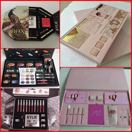 Wholesale Matte Box Kit - Newest Kylie Lip Kit by kylie jenner Velvetine Liquid Matte 12 Days Vault Makeup Holiday Big Box I WANT IT ALL The Birthday Collection Gift2