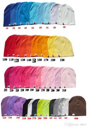 Wholesale Toddler Girl Knit Hats - New Unisex Newborn Baby Boy Girl Toddler Infant Cotton Hat Solid Candy Color Hats Soft Cute Children Kids Knit Beanie Caps Free Shipping