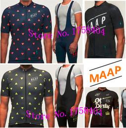 Maillot de cyclisme MAAP-gros couleur couleur hommes équipe vélo vélo vêtements ropa ciclismo maillot bicicleta court bavoir / tailles peuvent être ? partir de fabricateur