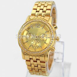 Wholesale New Dress Models Women - New Model women dress watch with diamond gold silver rose gold women wristwatches Top Luxury Design Lady watch free shipping