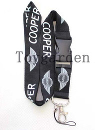 Wholesale Neck Strap Key Holder - Hottest MINI car logo Color Lanyard, ID card holder, Key Neck Strap Lanyard, Phone Neck Strap