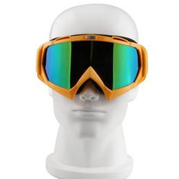 Wholesale Gafas Ski - Wholesale-1pcs Feminino & Masculino Couples Snowboard Snow Ski Goggles Yellow Frame Reflective Lens Eyeware Outdoor Sports Gafas T815-7