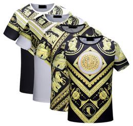 Wholesale Epacket Free Shipping - ePacket free shipping 2018 men's Brand Tshirt Male Short Sleeve T Shirt O-Neck medusa Men Shark T-Shirt Tee Tops Shirt Homme T Shirts