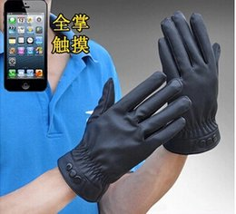 Wholesale Mechanix Gloves Free Shipping - Wholesale-2015 Hot Selling Factory Price Men's Gloves Thick Winter Mechanix Winters Gloves Iglove Free Shipping Mittens Leather Gloves