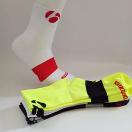 Wholesale White Silk Socks - Sky Knight New Sports Outdoor Cycling Socks Bike Race Training Breathable Absorbent Socks Men