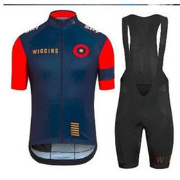 bavettes cyclistes professionnelles Promotion Articles nouveaux Wiggins Cycling Jersey 2015 pro team Vêtements de sport / vélo Vêtements Short sleeve + BiB Shorts Gel pad / Wiggins Cycling vest