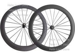 Wholesale Professional Wheels - Wholesale-On stock ,700c professional hand built 60mm tubular carbon road bicycle wheels
