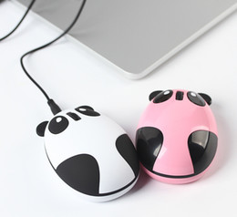 Wholesale Computer Finger Wireless Mouse - Lovely Panda USB wireless mouse, 2.4G wireless rechargeable mouse, built-in lithium rechargeable wireless mouse computer