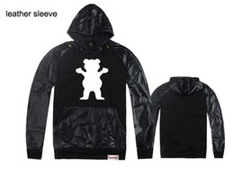 Wholesale Online Pullovers - Online Stock Hot Sale Diamond New Men's Plush Thick Warm Hoodie Overcoat Winter Coat Hoody, cotton