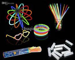 Wholesale Cheap Glow Sticks Wholesale - Wholesale-100pcs lot Wholesale Cheap Light Stick Glow Bracelet Party celebration glow in the dark Stick fluorescence stick Bracelet Toy