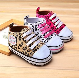 Wholesale Baby Leopard First Walking Shoes - Three colors Baby First learning Shoes Toddler Casual Shoes First Walking Shoes Infant Leopard Shoes Toddlers Shoes Free shipping