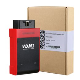 Wholesale Online Connector - NEW Arrival UCANDAS VDM II Update Online Wireless Car Diagnostic Tool work for android system Free shipping