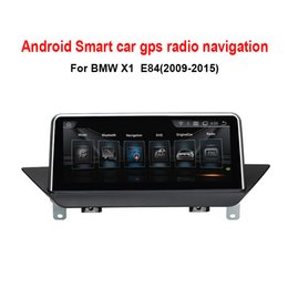 "Wholesale Bmw Android Radio - 10.25""Touch Android 4.4 Car GPS Navigation for BMW X1 E84 2009-2015 Radio Audio Stereo MP5 Player Bluetooth WiFi Mirrorlink no car dvd"