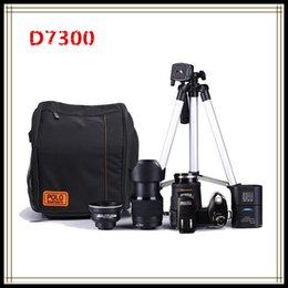 Wholesale Shoot Cameras - POLO D7300Digital camera HD1080P 3.0LCD 24 times optical zoom 33 million pixels, 3 mode complementary light,Three foot frame Free D