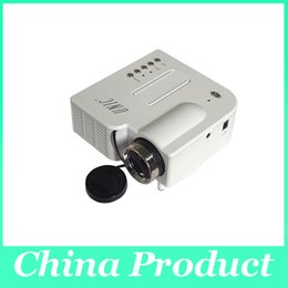 Wholesale Led Projecteur Lcd - UC28 Mini Projector LED Portable Projector Home Theater Proyector PC&Laptop VGA USB SD AV HDMI Projecteur Mini Projetor 010088