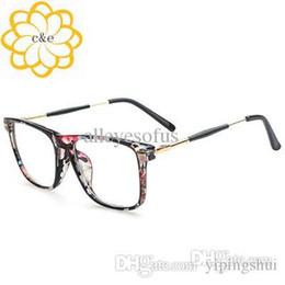 2015 new retro metal leg clear len plain glasses women brand designer eyeglasses cool glasses square big frame oculos de grau on sale