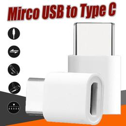 Wholesale mini usb connector female - Micro USB to USB 2.0 Type-C Adapter Connector Male to USB Data Female Mini Adapter Converter For Huawei P10 Samsung S8 Plus S7 Edge Note 8