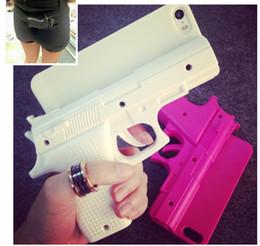 Étuis iphone guns en Ligne-Mode 3D Cool Pistolet Pistolet Pistolet Cas Pour iPhone 6 plus 5.5 pouces Nouveau En Plastique PC Dur Pistolet Couverture Pour iPhone6 plus Livraison gratuite