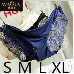 Tela sin costura online-Nueva victo Offe DuPont Fabric Ultra-thin Comfort Underwear women Bragas sin costuras para mujeres Calzoncillos sexy Calzoncillos de verano
