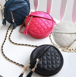 Wholesale Chain Bag Iphone Case - Women Mini Tassel Chain Bag PU Leather Handbag Clutch Women's Singles Shoulder Bag Bolsos Cell Phone Case Party Bag for iphone 6 7s