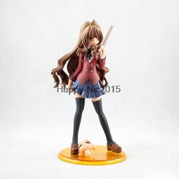 Wholesale Toradora Figures - 20cm Toradora Aisaka Taiga 1 8 scale PVC Action Figure Model Toy With Original Box