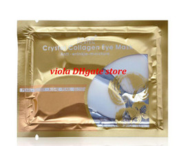 Wholesale Collagen Eye Patches - Beauty Makeup Eye Care High quality White Crystal collagen Eye Mask Hotsale eye patches Cuidados com os olhos 2000pairs