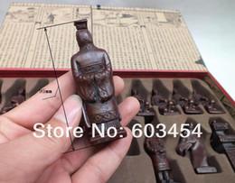 Wholesale International Chess - Wholesale Cheap RARE Large Chinese Dragon wood Leather box with Chess Set