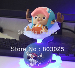 Wholesale Portrait Pirates One Piece - Free Shipping Anime One Piece Action Figure -- Chopper With Flash Whale Raab Base, Cute Portrait of Pirates Toy