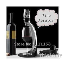 Wholesale Wine Tower Aerator - Hot Selling 80 Sets Deluxe Magic Wine Aerator Tower Gift Box, Red Wine Aerating Decanter Bottle Glass Fedex UPS Free Shipping 0419xx