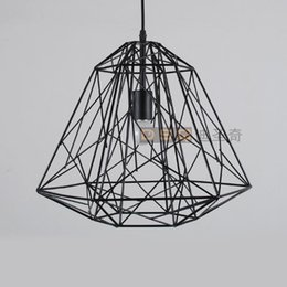 Shop birds pendant light uk birds pendant light free delivery to classic american vintage black and white iron wire cage bird nest pendant light living room light fashion design greentooth Image collections