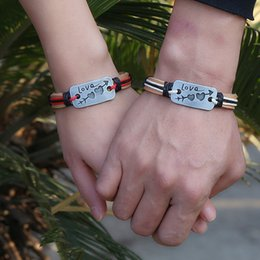 Wholesale Leather Bracelet Manufacturers - Earth leather bracelet jewelry lovers Valentine's Day gift wholesale manufacturers