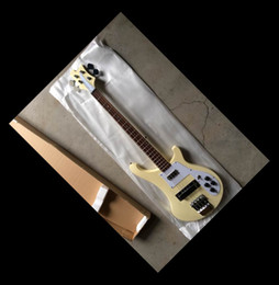 Wholesale Maple Bass - New 4001 Model 4 strings bass New Brand New ELECTRIC Bass In Cream Top Quality 141105