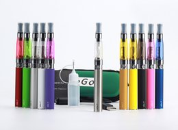 Wholesale Ego Ce5 Starter Kit Atomizer - E cig ce4 ce5 zipper case wax atomizer ego t battery electronic cigarettes ego e starter kits with ce4 ce5 wax vapor DHL