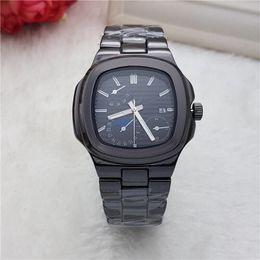 Wholesale Luxury R Watches - 2018 Fashionable Casual Neutral Watches Popular Brands Luxury Business Quartz Clock Sports Watch Men Steel Steel Business Waterproof Shock R
