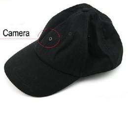 Wholesale Hidden Video Camera Hat - 1280*960 30 fps 2M Pixel Spy Baseball Cap Hat mini Camera Hidden DVR Camcorder Video Recorder