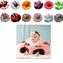 Juguetes de retazos online-Bebé portátil que aprende silla de descanso infantil asiento de seguridad pequeño sofá de felpa niños juguetes para niños Silla de alimentación Sofá Sofá KKA2215