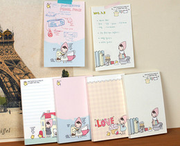 Wholesale Little Notebooks Wholesale - Free Shipping   NEW cute little red girl Notepad   Memo pad   notebook   Gift   Wholesale